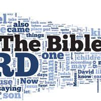 The Bible - Word Cloud