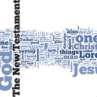 The New Testament - Word Cloud