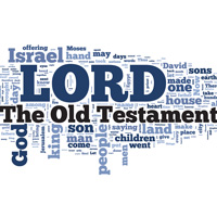 The Old Testament - Word Cloud
