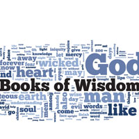 The Books of Wisdom - Word Cloud