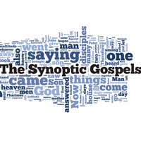 The Synoptic Gospels - Word Cloud