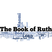 The Book of Ruth - Word Cloud