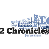 2 Chronicles - Word Cloud
