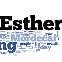 Esther - Word Cloud
