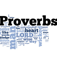 Proverbs - Word Cloud