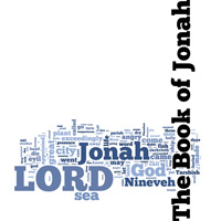The Book of Jonah - Word Cloud