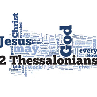 2 Thessalonians - Word Cloud